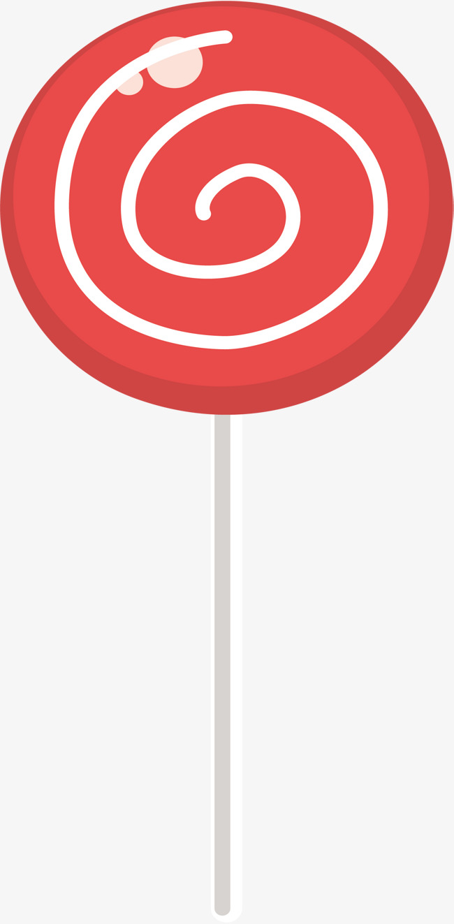 650x1323 Red Spiral Lollipop, Spiral Vector, Vector Png, Lollipop Png And