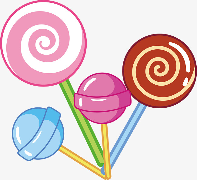 650x595 Vector Cartoon Lollipop, Cartoon Vector, Vector, Cartoon Png And