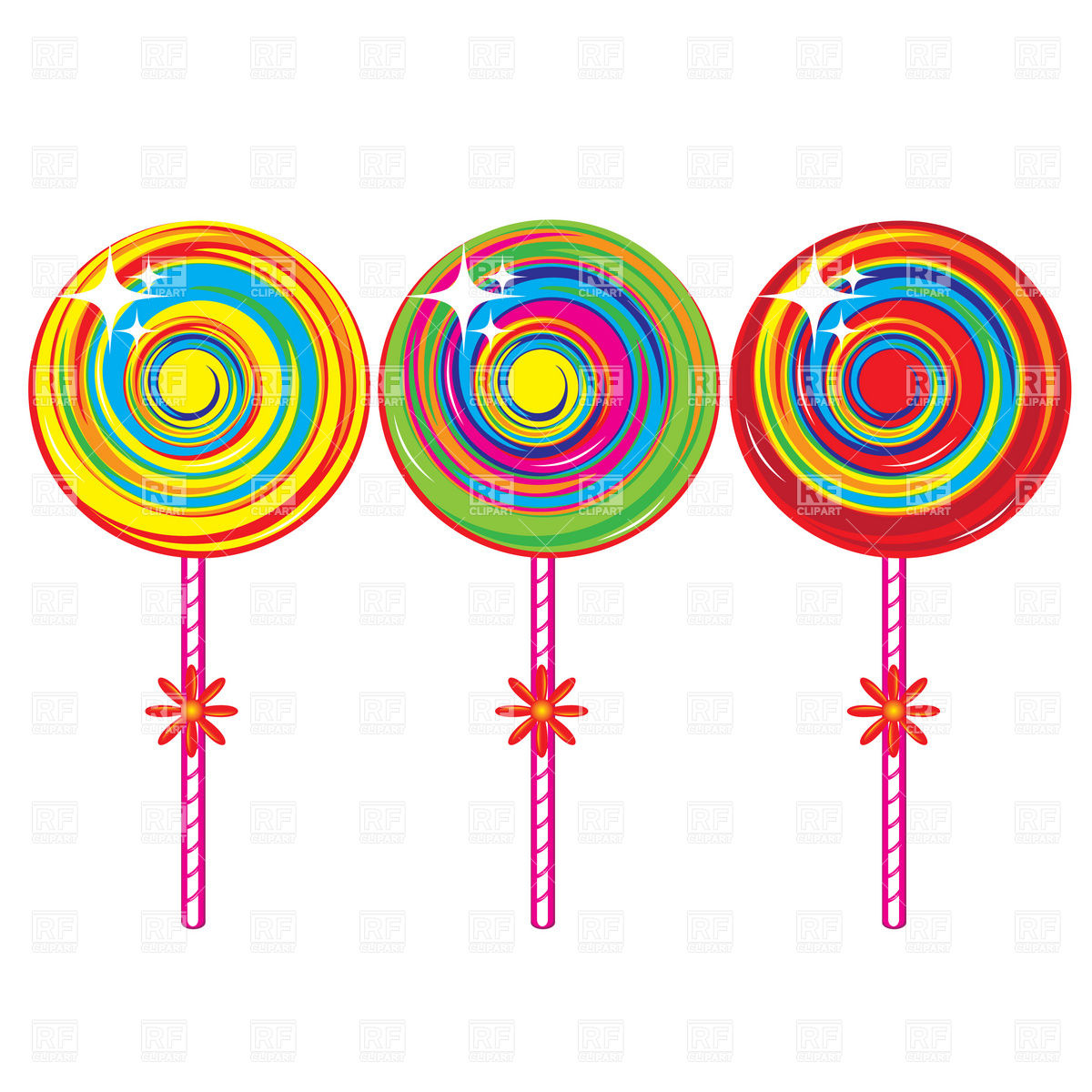 1200x1200 Cartoon Lollipop Vector Image Vector Artwork Of Food And