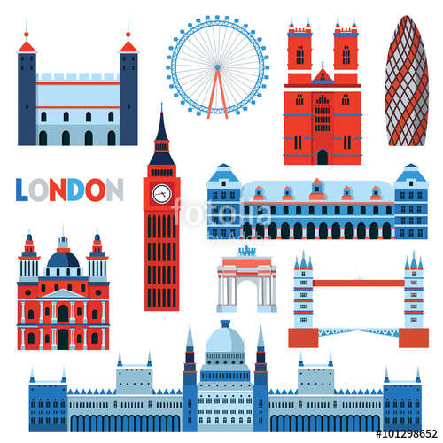 500x500 London. Vector Illustration Stock Image And Royalty Free Vector