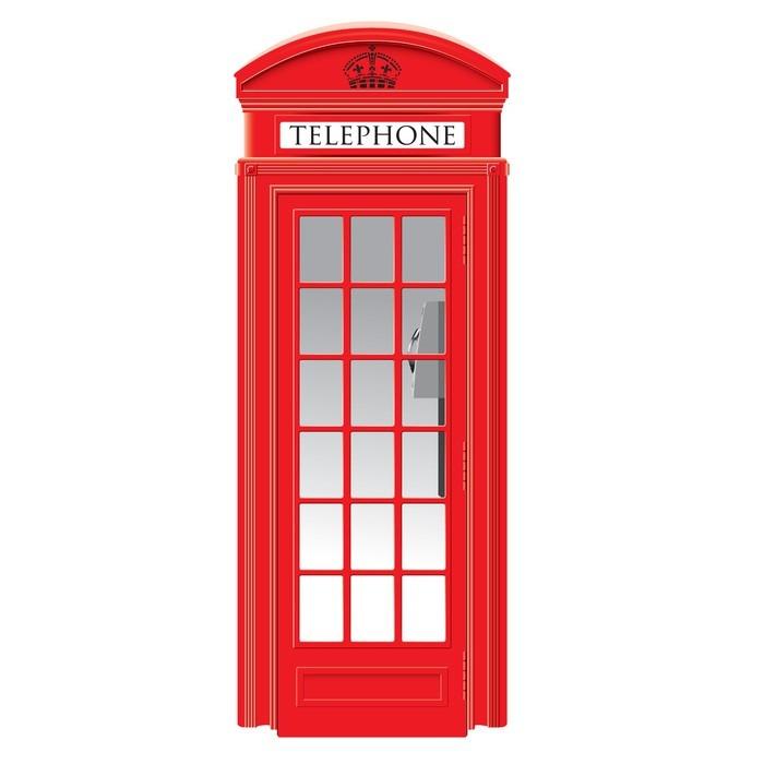 700x700 Red Telephone Box