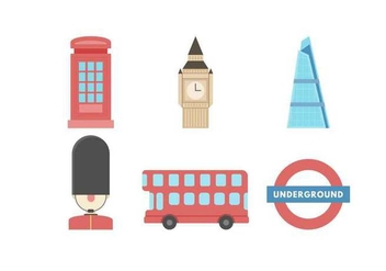 352x247 Free London Landmarks And Icons Free Vector Download 415329 Cannypic
