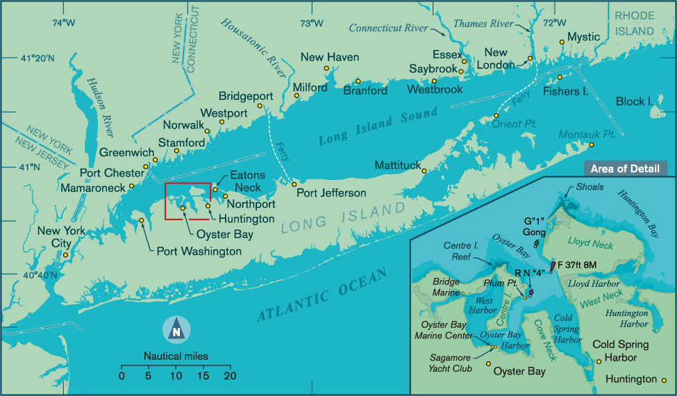 975x570 Vector Map Of Oyster Bay Ny Points East Magazine