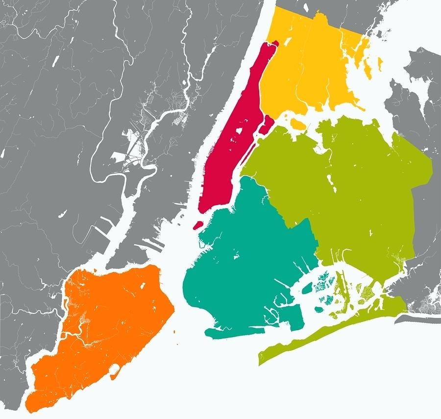 900x854 Maps 5 Boroughs Of Nyc Map Five Vector And Long Island. 5