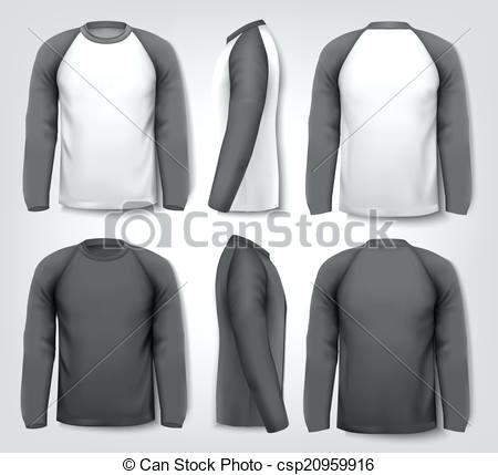 Long Sleeve Shirt Vector At Getdrawings Free For Personal Use