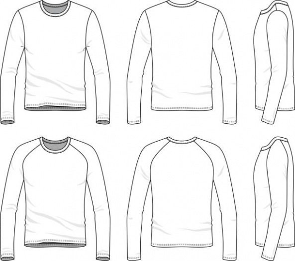 593x525 Pretty Free Long Sleeve T Shirt Template Images Gtgt 82 Free T Shirt