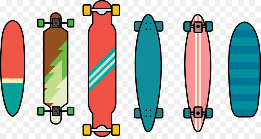 900x480 Skateboard Vecteur Longboard