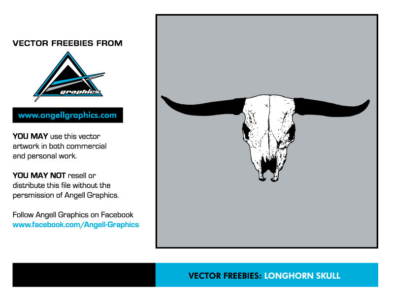 800x600 Longhorn Skull Vector Free Vector Download In .ai, .eps, .svg Format