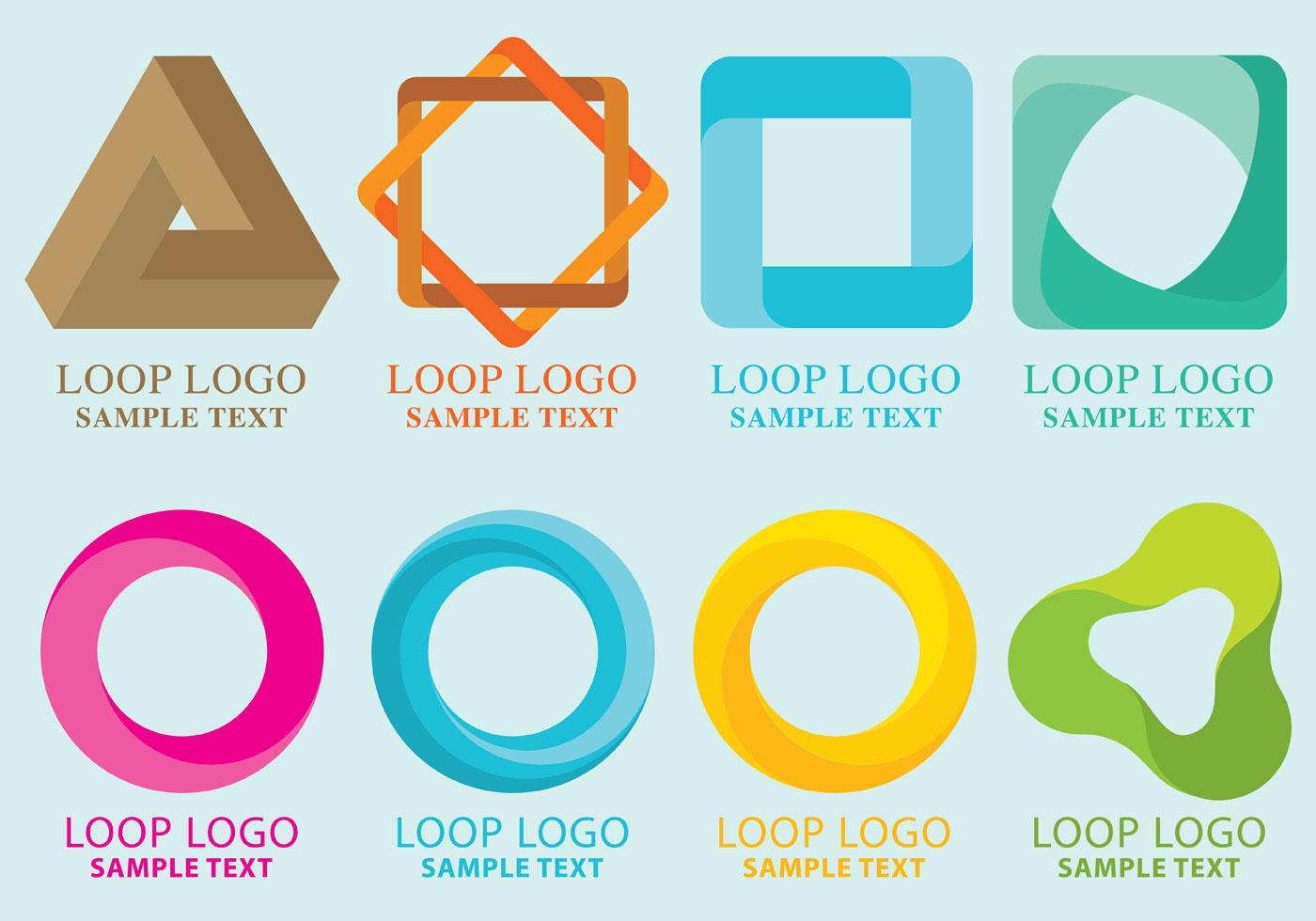 1400x980 Loop Logo Vectors Designrockr