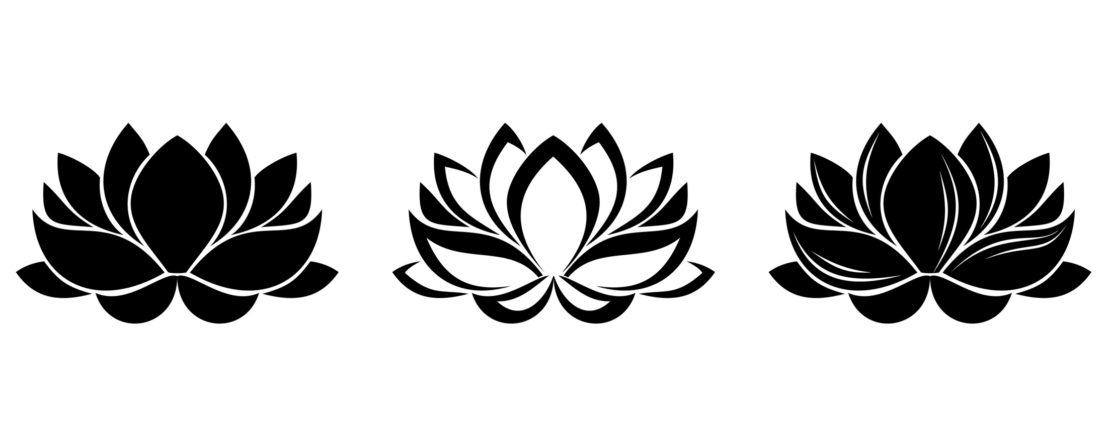 Lotus Flower Vector Free Download At Getdrawings Free For