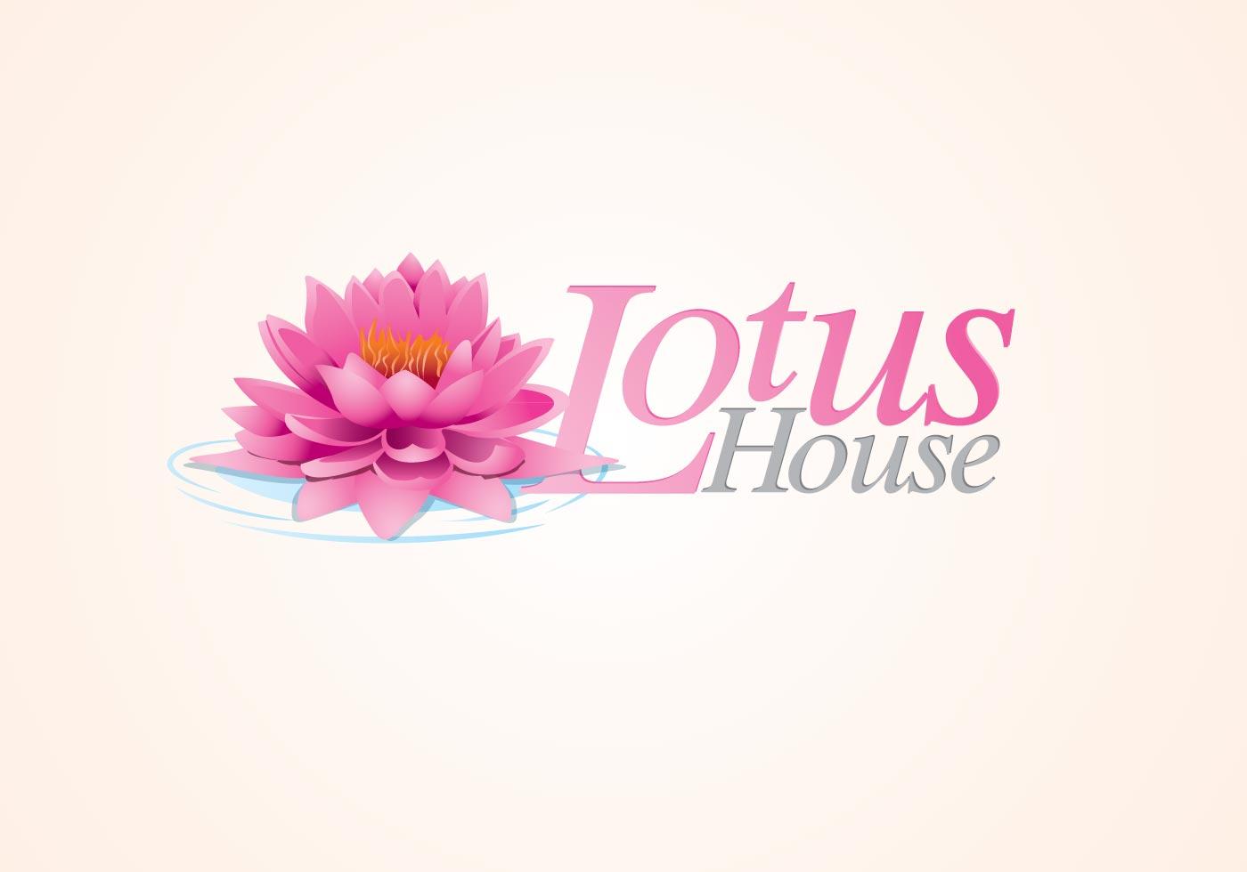 1400x980 Lotus Logo Free Vector Art