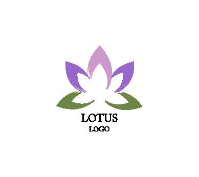 389x346 Lotus Art Inspiration Vector Logo Design Download Art Logos