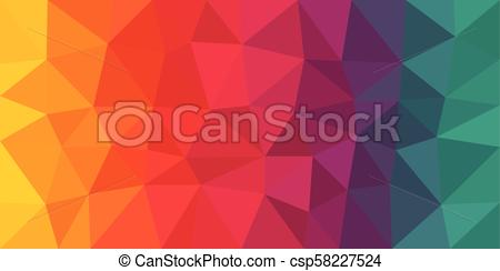 450x244 Colorful Low Poly Vector Background. Colorful Low Poly Vector