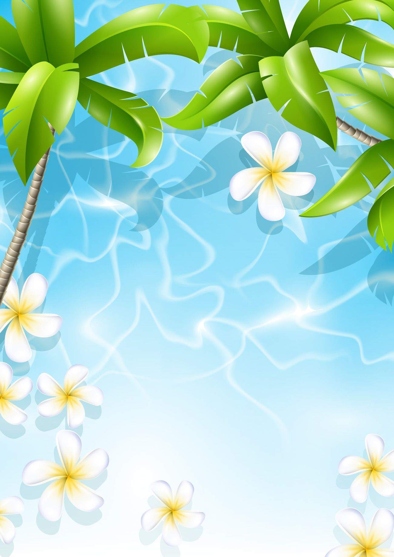 1300x1839 Beautiful Tropical Backgrounds Vector 04 Signs In 2018