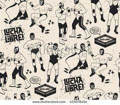 Luchador Vector