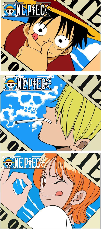 676x1523 Free Vector One Piece One Piece Luffy Nami Hong Custard Psd Files