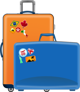Luggage Vector