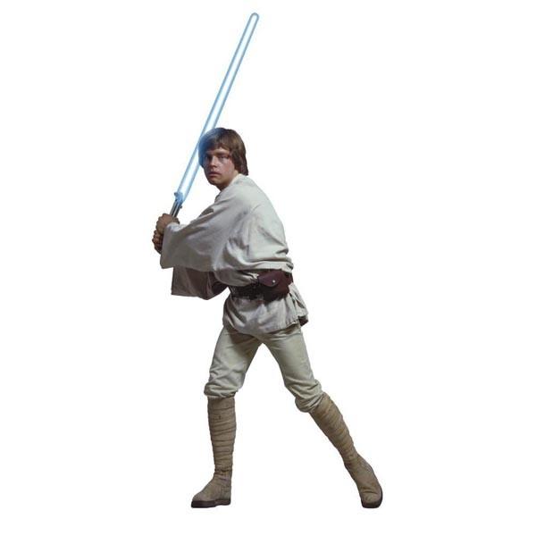 600x600 Luke Skywalker Wall Sticker Jomoval