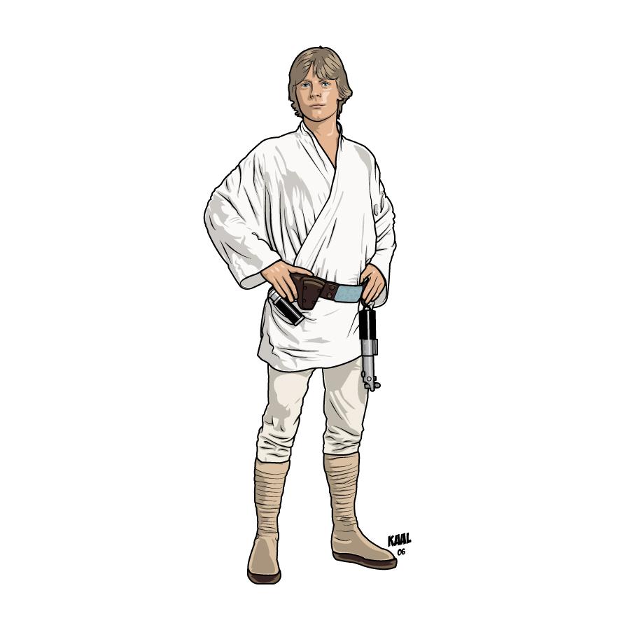 900x900 Star Wars Vector Library Stock Luke Skywalker