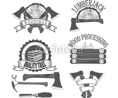 400x331 Emblem Lumberjack Vector Buy Photos Ap Images Detailview