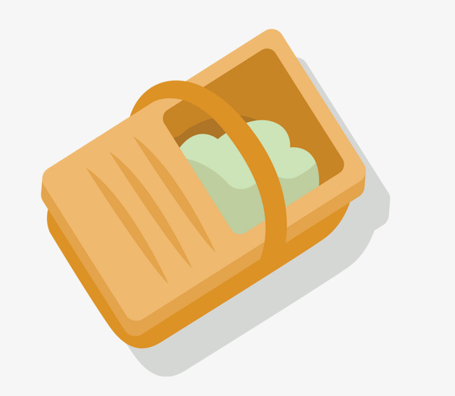 650x565 Cartoon Lunch Box Vector, Box, Wooden Box, Lunch Box Png And