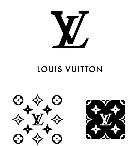452x486 Free Simple Louis Vuitton Logo Amp Pattern Vector