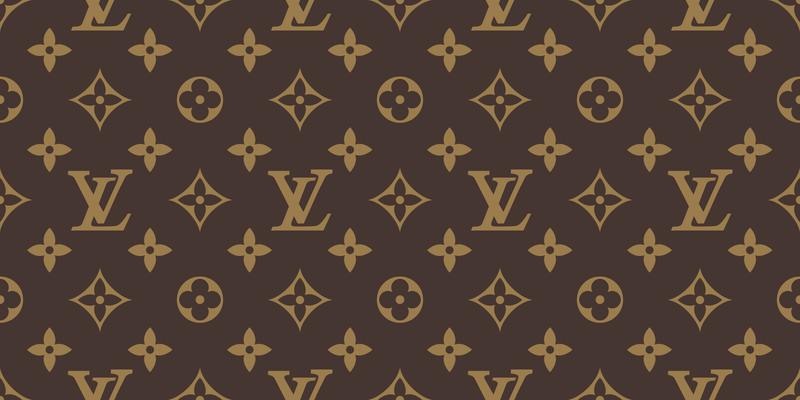 800x400 Free Download Of Seamless Louis Vuitton Pattern Vector Vector