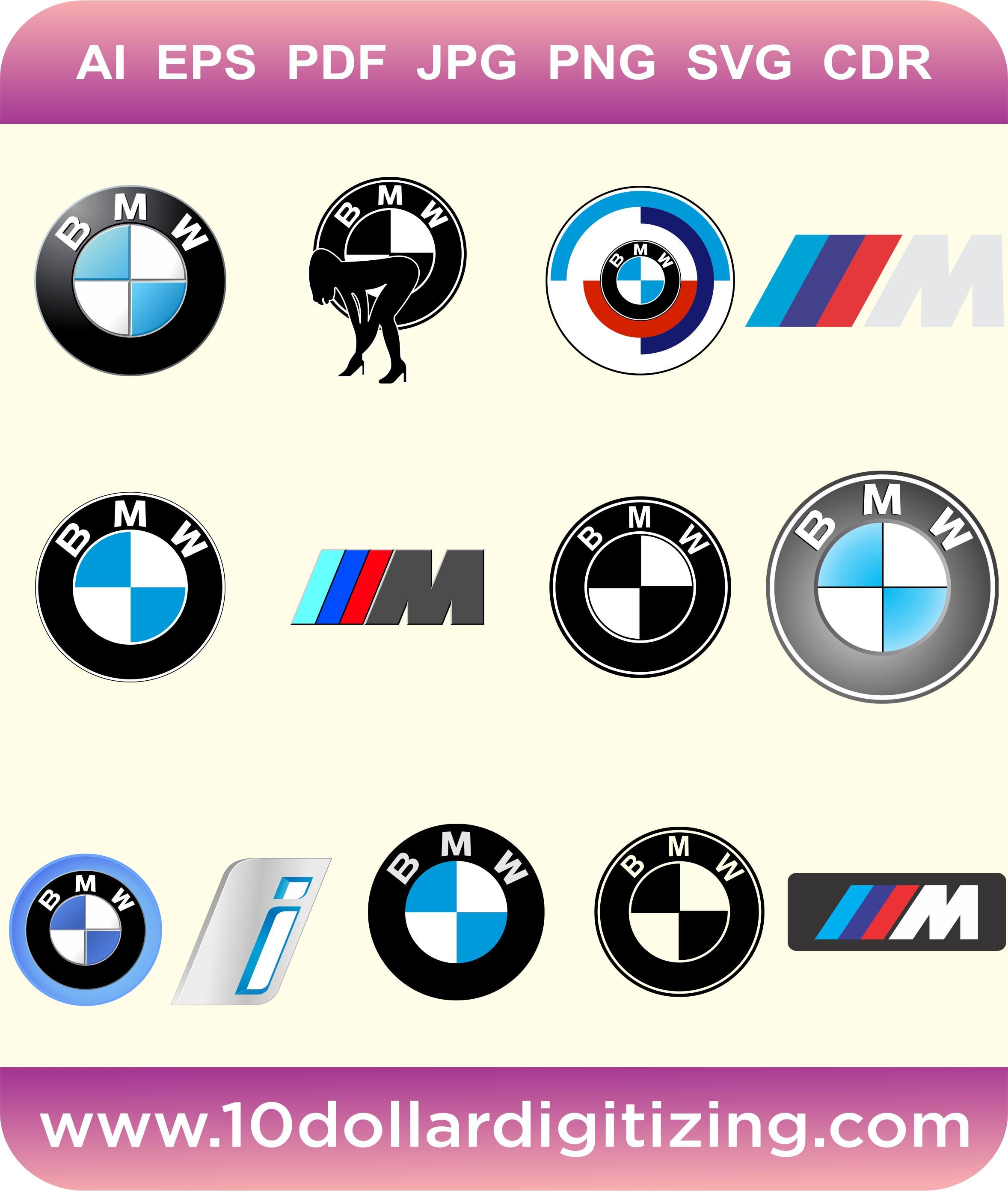 2356x2782 Bmw Logo Vector Eps Bmw M Series Logo Vector Bmw M Power Etsy