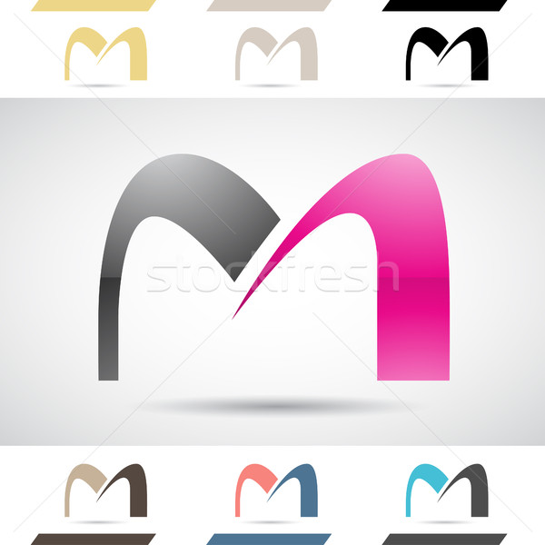 600x600 Logo Shapes And Icons Of Letter M Vector Illustration Cihan