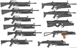 260x164 Download M16a1 Vector Clipart Assault Rifle M4 Carbine Firearm