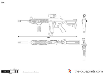 400x283 M4 Vector Drawing