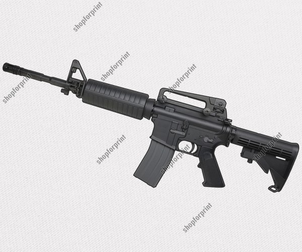 600x500 Colt M4 Carbine Vector Image In Formats