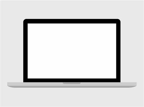 474x355 Macbook Pro Vector Flat. Flat Apple Device Mockups For Download