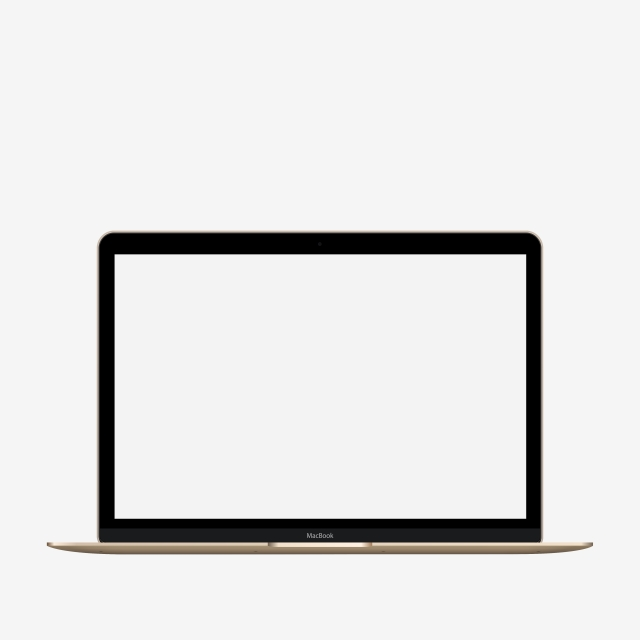 640x640 Apple Macbook Front Vector Template For Free Download On Pngtree