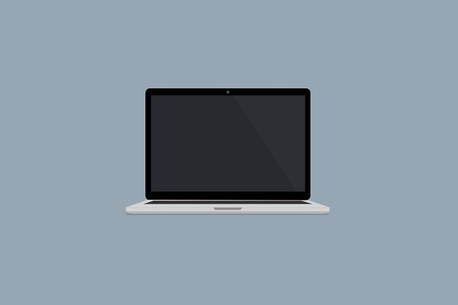 Macbook Vector Mockup