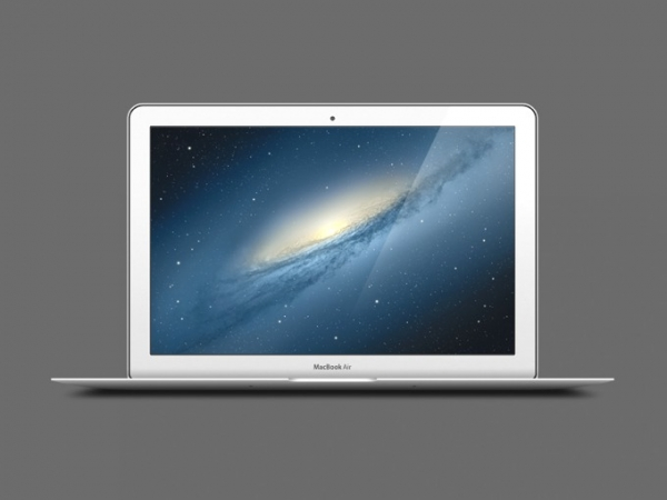 600x450 Macbook Air Mockup