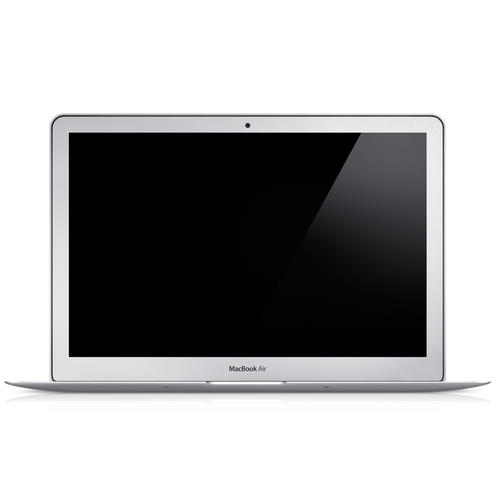 980x980 Macbook Mockup Png