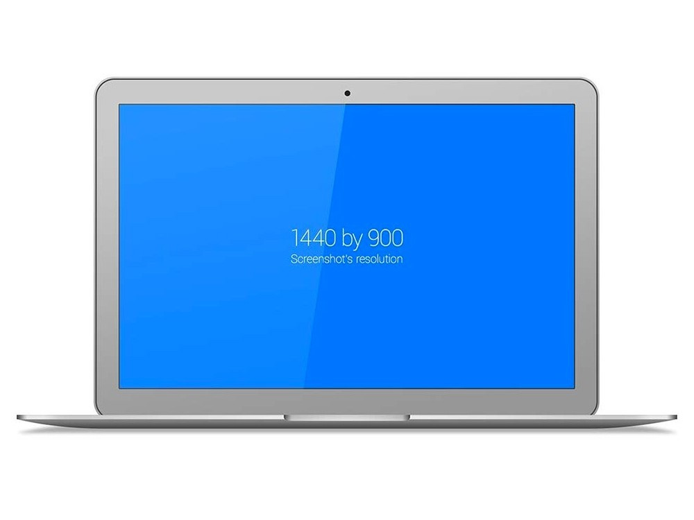 1000x750 Clean Macbook Air Mockup Mockupworld