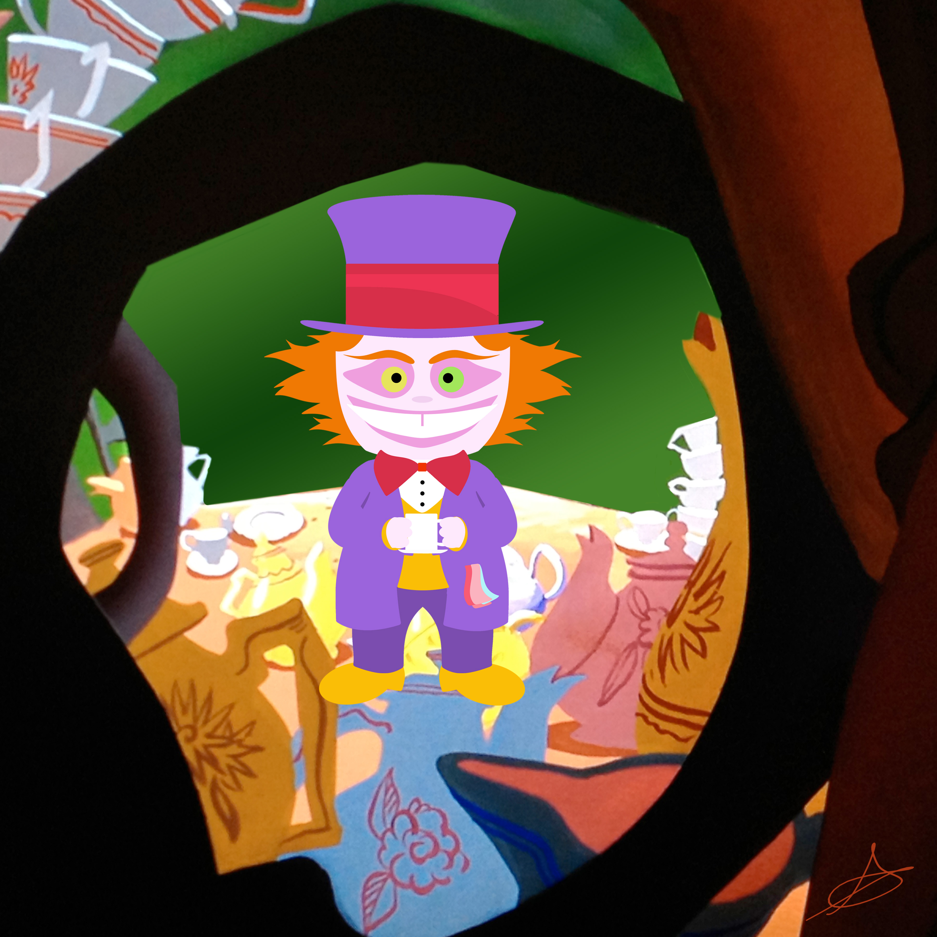 3600x3600 Mad Hatter Vector