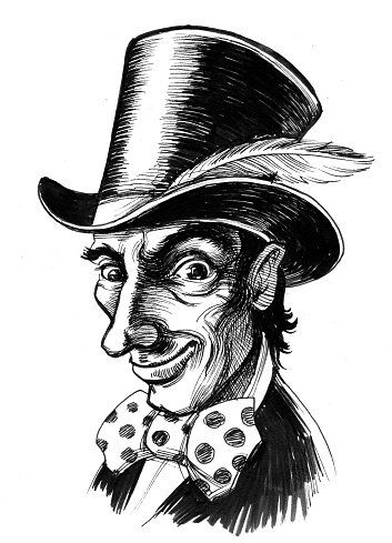 353x489 Mad Hatter Stock Vectors