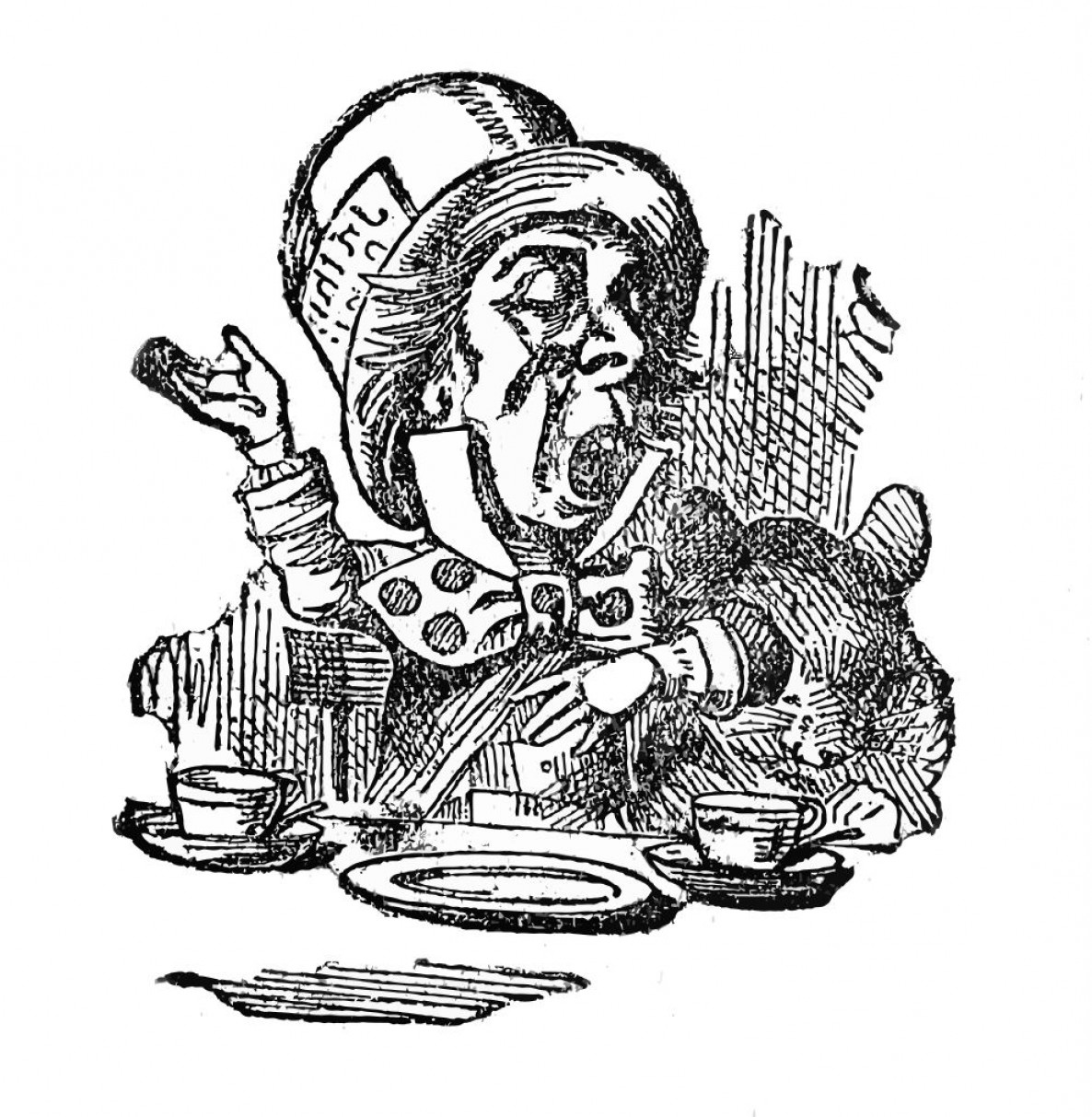 1186x1213 Alice In Wonderland Clip Art Alice Mad Hatter Cat Sohadacouri