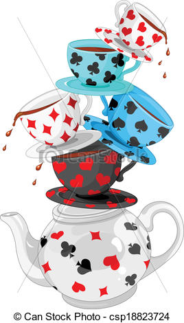 268x470 Tea Party Clipart Mad Hatter