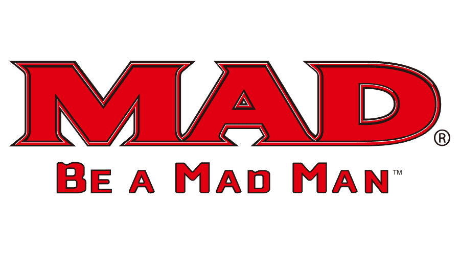 900x500 Mad Be A Mad Man Vector Logo