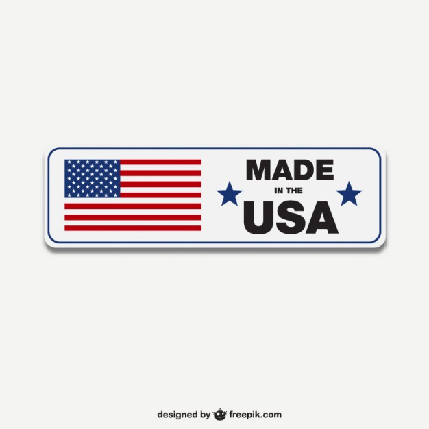 626x626 Made In Usa Label Vector Vector Free Download