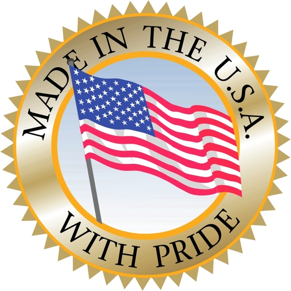 600x600 Made In Usa 3 Free Vector In Encapsulated Postscript Eps ( .eps