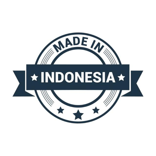 640x640 Made In Indonesia Stamp Vector, Indonesia, Made, Stamp Png And