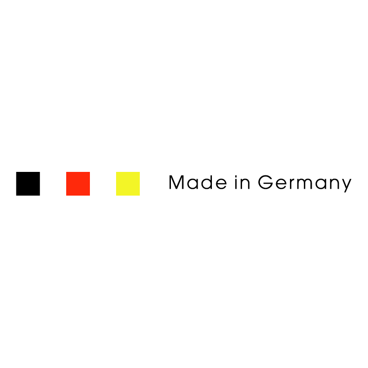 745x745 Made In Germany Free Vector 4vector