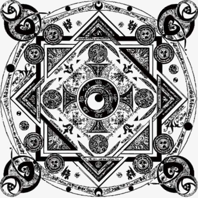 650x651 Magic Circle, Circle Vector, Magic, Vector Png And Vector For Free
