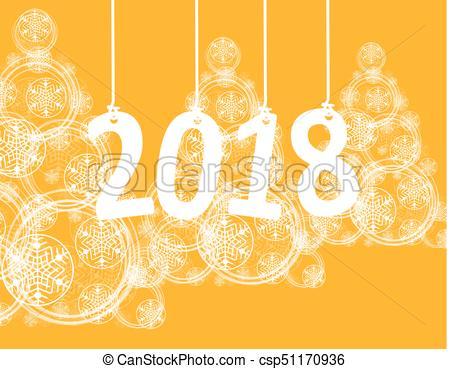 450x369 Christmas Tree Made Of Snowflakes And Magic Circle. Vector