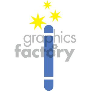300x300 Royalty Free Magic Wand Vector Icon 404041 Vector Clip Art Image
